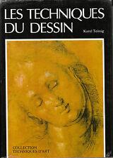 Livre les techniques du dessin Karel Teissig book idéal pour cadeau