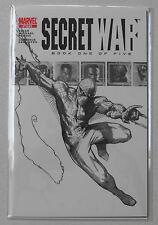SECRET WAR #1 - SKETCH VARIANT/COMMEMORATIVE EDITION-MOVIE COMING SOON!
