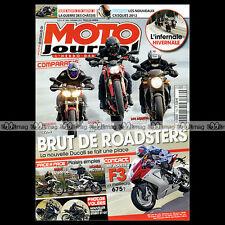 MOTO JOURNAL N°1989 DUCATI 848 STREETFIGHTER MV AGUSTA 675 F3 BMW G 650 GS 2012