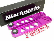 BLACKWORKS BILLET LCA LOWER CONTROL ARM 02-06 ACURA RSX DC5 PURPLE