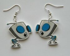 New Invader Invaders Zim Gir Novelty Earrings Too cute