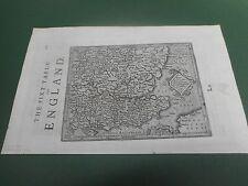 100% Originale Sud Est Mappa di Mercatore C1637 scarse in buonissima condizione basse spese di spedizione