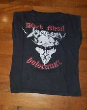 Metallica/Venom Vintage original Black metal holocaust shirt 1984