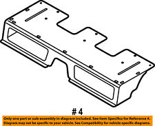 FORD OEM 10-13 Transit Connect Interior-Rear-Front Cover AT1Z9913182A