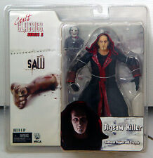 """Saw Jigsaw Unmasked & Billy Puppet 7"""" Action Figure Cult Classics Series 5 NECA"""