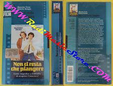 VHS film cartonata NON CI RESTA CHE PIANGERE sigillata GRANDI FILM (F11) no dvd