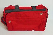 swissgear Swiss Tech Duffle Bag red zippered sides front