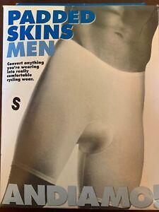 Andiamo! Padded Skins Men's Small Black