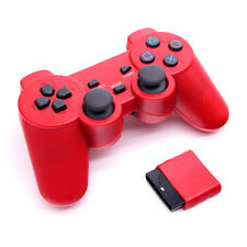 Wireless Gamepad Controller 2.4ghz USB Dual Shock Game Pad Joystick For Sony PS2
