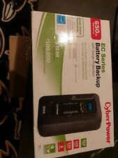 CyberPower EC650LCD Ecologic 650VA/390W Energy Efficient LCD Desktop ECO UPS
