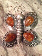 Butterfly Brooch Fine Art Jewelry Retail 2400.00
