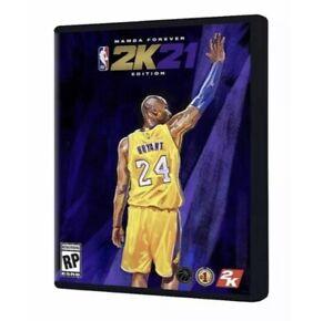 NBA 2K21 Mamba Forever Steelbook Edition PlayStation 5
