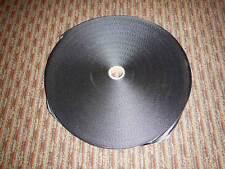 """Black Nylon Heavy Webbing Strap 1"""" x 100 Yards"""