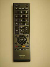 NEW GENUINE TOSHIBA TV REMOTE CT-90437  CT90437  58L5335dg