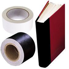 """Book Repair (BLACK) tape. 2"""" X15 yards Self Adhesive by LINECO,  (Bin 2133-B)"""