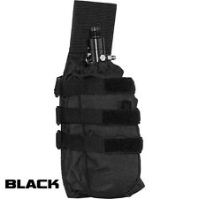 New Valken V-Tac Vtac Paintball Tactical MOLLE Universal Tank Vest Pouch - Black