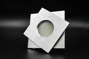 10X LED Einbaustrahler SET Feuchtraumstrahler IP44 Alu Einbauspot GU10 5 Watt nw