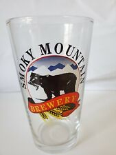 Vintage Libbey Smoky Mountain Brewery Beer Bar Glass