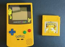 Nintendo Game Boy Color Gameboy Color Pikachu Version mit Pokémon Gelb Original