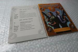 Amiga Game / Software Manual / Paperwork ~ Chaos Engine 2 Bitmap Brothers