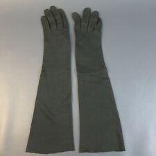 Vintage Gant Madeleine 100% Cotton Long Gloves Sz 6.5 Made in France