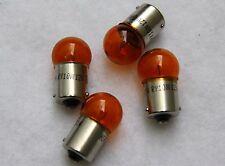 VESPA BLINKER Birne Set 4x GELB orange 12V 10 W Roller Mofa Motorrad Auto KFZ