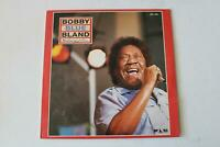 Bobby Blue Bland Midnight Run Malaco LP 1989 VG+ Soul R&B