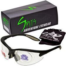 MAGshot Hunting Shooting Safety Glasses Black Frame Full Magnifying- Various Len