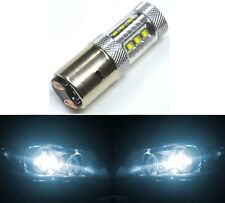 LED 80W BA20d White 6000K One Bulb Head Light Off Road Replacement Lamp OE