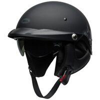 Bell Pit Boss Motorcycle Half Helmet Roses Black Gunmetal Medium 7109739 HB