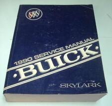 BUICK SKYLARK - Car Service Manual - 1990