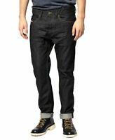 B-Ware Diesel Herren Regular Slim Fit Jeans Hose Braddom 0088Z W26, W27 L32