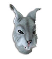Rabbit Rubber Mask Fancy Dress Costume Outfit Prop Rabbits Head