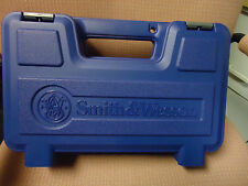 Smith & Wesson Brand New Factory Pistol Case Large Blue S&W BOX