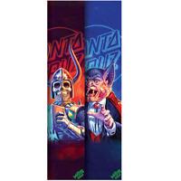 "Mob Skateboard Griptape Santa Cruz the Worst 9"" x 33"" Grip Tape Sheet"