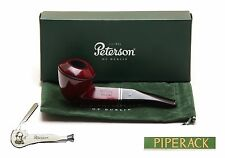 NEW Peterson B5 Killarney 9mm Filter Briar Pipe with Free Pipe Tool RED