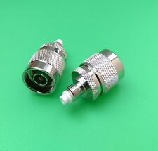 (2 PCS) FME Female to N Male Connector - USA Seller