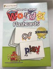 MEET THE SIGHT WORDS FLASHCARDS Preschool Prep (K-1st)