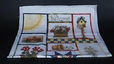 Riverwoods Collection GUILDY GIRLS Flannel Panel Quilt Wall Cheater Fabric Pearl