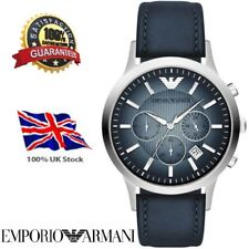 *New Emporio Armani AR2473 Classic Chrono  Leather Strap Watch 2 Year Warranty*