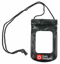 Black Waterproof Dry Case / Carry Pouch for the Google Pixel Smartphone