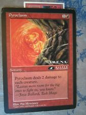 Magic the Gathering MTG Oversized 6x9 Card: Pyroclasm