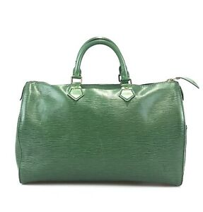 100% authentic Louis Vuitton Speedy 35 M42994 Boston bag used 156-1-z