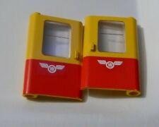 2 x Porte (gauche droite) LEGO door ref 4181p02 Set 7740 7815 7819 7722 740 7735