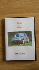 Minis in Action Rally DVD Austin Morris Cooper BMC British Leyland