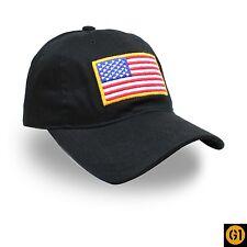 USA Flag Vet Cap Hat Ball Baseball Military Army Tactical Veteran Cap 1 SZ FIT