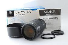 MINOLTA AF 75-300mm f/4.5-5.6 D Lens for Sony from japan [Excellent+]
