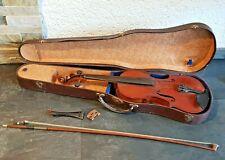 Dachboden Fund sehr alte antike Geige Violine Holz Musik Instrument Musik Deko