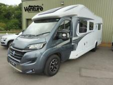 2017 Knaus Skywave 700MX fixed island bed 4 berth family motorhome with Garage