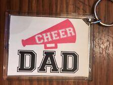 Cheerleading Keychain with Cheer DaD